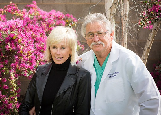 Dr. Robert Richardson and his wife